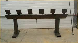six target plate rack blue steel targets llc