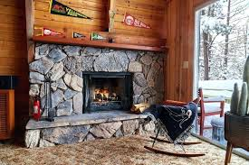 wood fireplace with gas starter the wood burning fireplace complete gas starter easy insert with kit