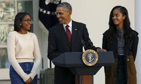 this is what a feminist looks like president obama writes president obama daughters