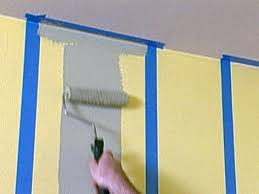 Painting Patterns On Walls How To Paint Multiple Striped Walls How Tos Diy