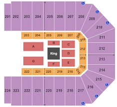 Mobile Civic Center Theater Seating Chart Buy Wwe Tickets Seating Charts For Events Ticketsmarter