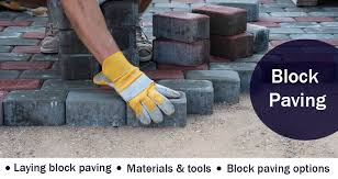 how deep to dig when laying block paving