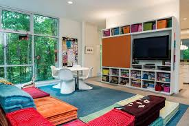 decorating with floor pillows. Decorating Cushions Kids Modern With Floor Blue Rug Colorful Pillows N