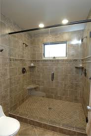 Photo 4 of 10 Walk-in Shower, Tile With Glass Door, Dual Shower Heads At  Opposite Ends
