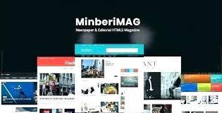 Free News Center Blog Theme Themes Templates Premium Website