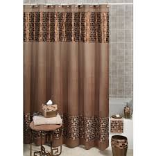 Brown Bathroom Accessories Western Shower Curtains And Bath Accessories
