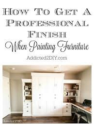 professional furniture paintingModern Farmhouse Murphy Bed  How To Get A Professional Paint