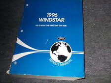 ford windstar repair manual 1996 ford windstar van workshop service shop repair manual factory oem