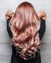 Brilliant Rose Gold Hair Color Ideas