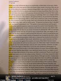 Student rickrolls his physics teacher inserting lyrics into paper