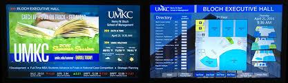 Digital Signage At Umkc
