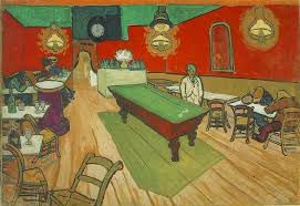 the night cafe one might look at a painting by vincent van gogh and wish that they could step into the painting and walk around now you can come as close