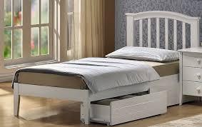 joseph lana bed frame lana with white drawers