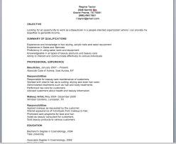 Cosmetology Resume Samples Beauteous Cv For Beautician Resume Samples Capable Then Keyhome