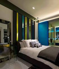modern bedroom black. Beautiful Ideas Design Interiors Modern Bedroom Mens Black High Gloss Drawer Dresser Beige Flower Pattern P
