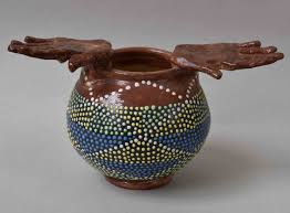 Prue Piper Large Bowl With Hands Bohun Gallery Contemporary