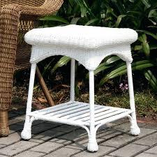 wicker patio table round wicker patio coffee table