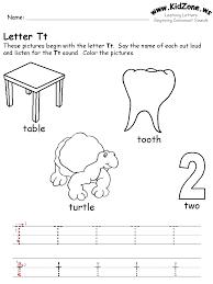 Letter T Worksheets Kindergarten Great Writing Letter T Worksheets ...