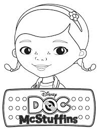 Small Picture Awesome Doc McStuffins Coloring Page NetArt