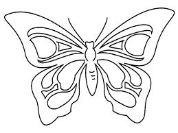 Farfalla Da Colorare Farfalla Da Stampare E Da Colorare Categoria