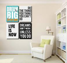 4 piece dream big little one canvas wall art prints poster picture 022 4 on dream big little one wall art with 4 piece dream big little one canvas wall art prints poster picture