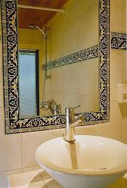 bathroom tile designs ideas. This Will Really Stand Out When Compared To Other Boring Bathroom Designs. Do Not Be Afraid Add Color And Intricate Tile Designs For A Spectacular Look. Ideas