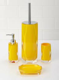 Yellow Bathroom Decor Sets