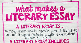 literary essay teaching to the test taker