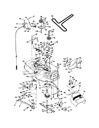 Briggs and stratton 500 series engine diagram craftsman model lawn tractor genuine parts of briggs and