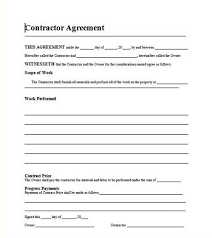 Agreement In Word Awesome Free Template Residential Roofing Contract Money Pinterest