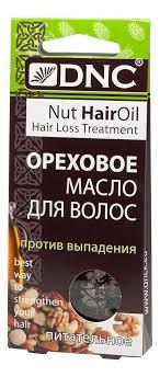 <b>Питательное масло для волос</b> против выпадения Ореховое 3*15мл