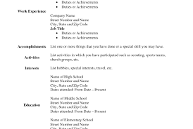 Free Fill In Resumes Printable Resume 100 Cover Letter Template For Resume Builder For Free 92