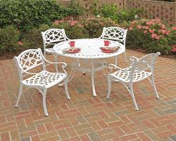 white iron patio furniture. Delighful Patio Catchy White Metal Outdoor Furniture Modern  Info In Iron Patio