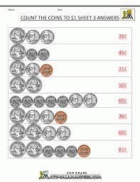 Countingcoinshowmuchmoneywithquarters Math Worksheets Counting ...
