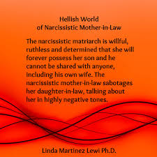 The narcissistic matriarch is willful ruthless and determined.