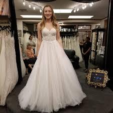Stella York Ivory Tulle Lace 6701 Feminine Wedding Dress Size 6 S 41 Off Retail
