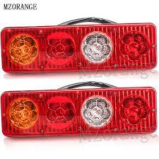 <b>MZORANGE 2pcs</b> LED <b>Car</b> Rear Tail Lights Lamp Brake Stop Light ...