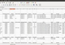 Spreadsheet For Software Inventory And How To Maintain Store