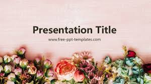 Flower Powerpoint Free Powerpoint Templates
