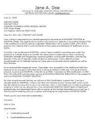 Registered Nurse Cover Letter Template