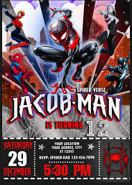 Spiderman Template Ideas Cool Birthday And Party Theme With Spiderman