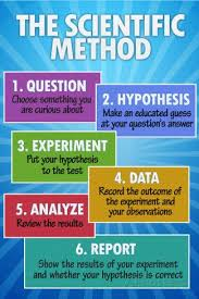 The Scientific Method Classroom Chart Plastic Sign Plastic