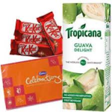 tropicana juice chocolates bos diwali gifts hyderabad india