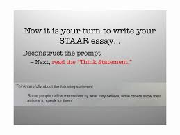 staar deconstructing the prompt writing a thesis statement step staar deconstructing the prompt writing a thesis statement step by step