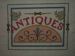 counted cross stitch antiques