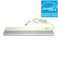 under cabinet lighting with outlet. LED White Under Cabinet Light With USB Lighting Outlet T