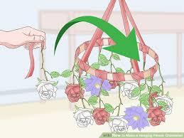 image titled make a hanging flower chandelier step 17