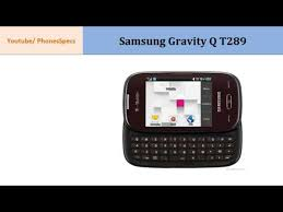 Samsung Gravity Q T289 full ...