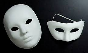 Plain White Masks To Decorate MASKS Paper Mache 13