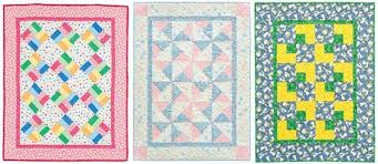 Bust your stash with baby quilts - Stitch This! The Martingale Blog & ... Super quick and easy quilts from The Big Book of Baby Quilts 2 Adamdwight.com
